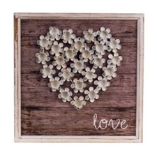 Love in Bloom Wood Plaque Wall D?cor by Byron Anthony Home
