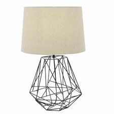 "Metal Wire 25"" Table Lamp"