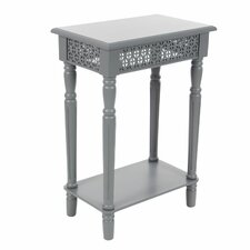 Wood End Table by Cole & Grey