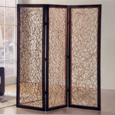 72 X 72 Kawaii 3 Panel Room Divider by Screen Gems