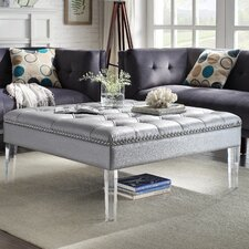 Twain Ottoman by Chic Home Furniture