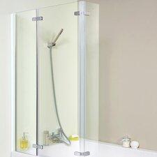 Ella 81cm x140cm Hinged Bath Screen