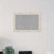 Framed Magnetic Memo Board
