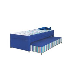 Billy Open Coil Trundle Bed