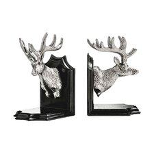 Deer Head Bookends (Set of 2)