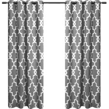 Hadley Geometric Blackout Curtain Panels (Set of 2)