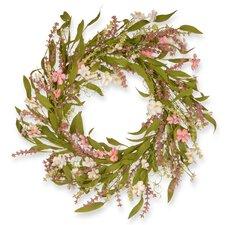 "22"" Dogwood Flowers Wreath"