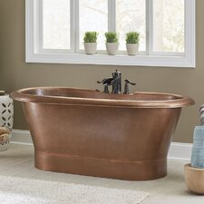 Thales 60 x 29.5 Freestanding Soaking Bathtub by Sinkology
