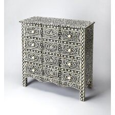 Chanell 12 Drawer Chest by Mistana