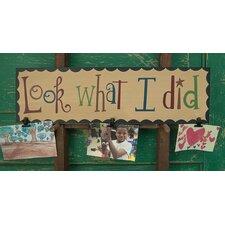 'Look What I Did' Bulletin Board