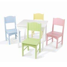 Nantucket Kids 5 Piece Table & Chair Set by KidKraft
