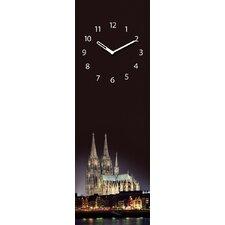 Analoge Wanduhr Time Art Köln