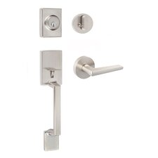 Modern Series Single Cylinder Entrance Handleset