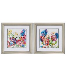 Lush Garden' 2 Piece Framed Painting Print Set by Propac Images