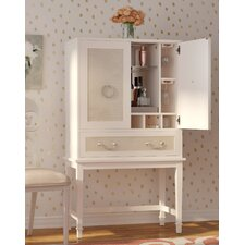 Lamphere Bar Cabinet with Wine Storage