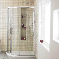 Apex Shower Enclosure in Chrome