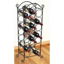21 Bottle Wine Rack