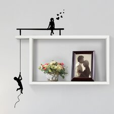 Boy/Girl Floating Shelf