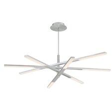 Stacked 8-Light Sputnik Chandelier