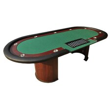 """96"""" 10 Player Texas Hold'em Poker Table"""
