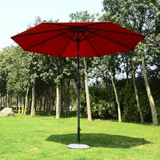 Garden 24 LED Light 2.75m Illuminated Parasol