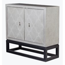 Rosanna 2 Door Cabinet by House of Hampton