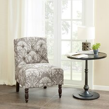 lenox tufted slipper chair - Slipper Chairs