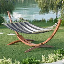 Grissom Free-Standing Patio Hammock with Stand