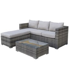 Erin Corner Sectional Piece with Cushions