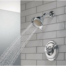 Victorian Pressure Balanced Diverter Shower Faucet Trim with Lever Handles