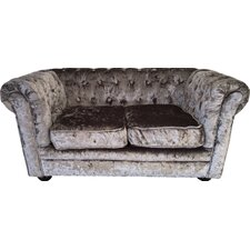 2 Seater Chesterfield Children's Velvet Sofa