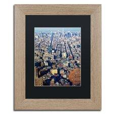 Lower Manhattan' by CATeyes Framed Photographic Print  by Trademark Fine Art