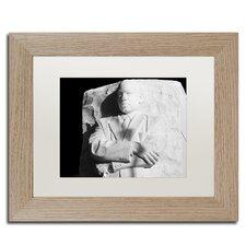MLK Memorial' by CATeyes Framed Memorabilia by Trademark Fine Art