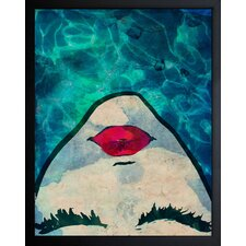 'Water Coveted' Framed Painting Print