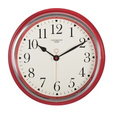 Analog Vintage Metal Wall Clock