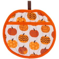 Pumpkin Potholder