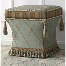 Yates Traditional Pedestal Ottoman by House of Hampton®