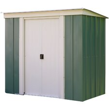 Buttercup 6 x 4 Metal Lean-To Shed
