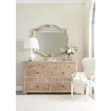 Juniper Dell 8 Drawer Dresser with Mirror by Stanley Furniture