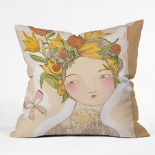 Beauty on The Inside Throw Pillow