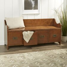 4 Drawer Wood Storage Entryway Bench by Birch Lane™
