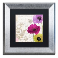 Love Notes I' by Color Bakery Framed Graphic Art  by Trademark Fine Art