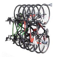 6 Bike Storage Wall Mounted Bike Rack