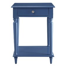 Wooden End Table by Homestyle Collection