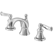 Brescia Widespread Bathroom Faucet with Double Lever Handles