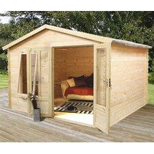 10.83 x 9.84 Ft. Log Cabin