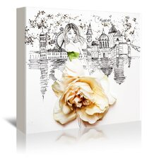 Lovely London' by Meredith Wing Graphic Art on Wrapped Canvas by East Urban Home