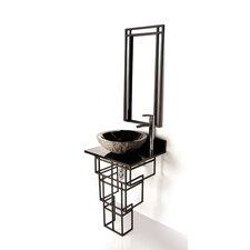 Iron Mission 22 Single Bathroom Vanity Set by D'Vontz