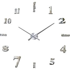 Oversized 120cm Luxury DIY Wall Clock
