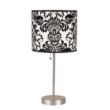 """Amber 19.5"""" Table Lamp"""